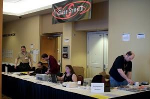 GameStorm Registration Desk